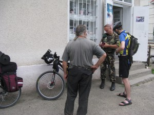 Brain Racing MTB Expedition Ukraine 2009 - Ukrainian police control