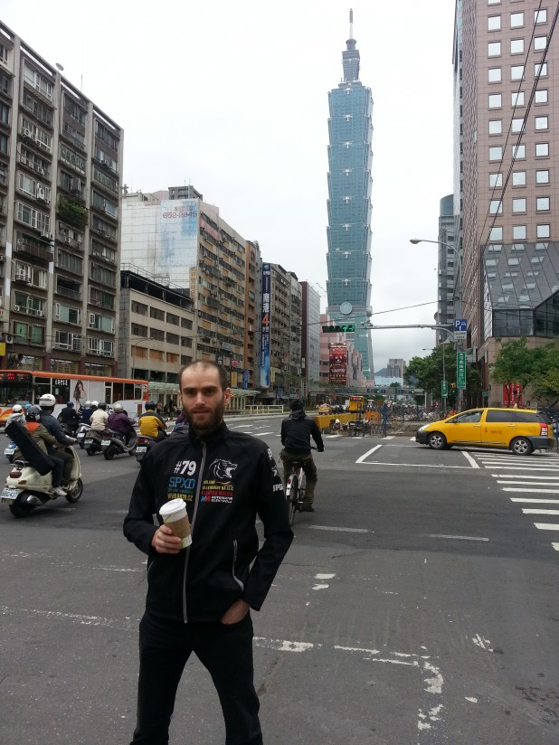 Brain racing MTB Expedice Taiwan 2013 - Taipei 101