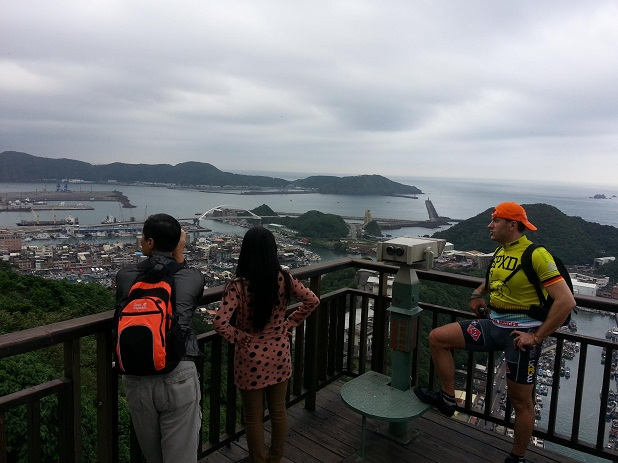 MTB expedition Taiwan 2013 BR79.cz sea views