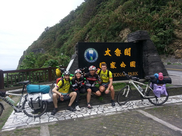 MTB expedition Taiwan 2013 BR79.cz Tandem racers
