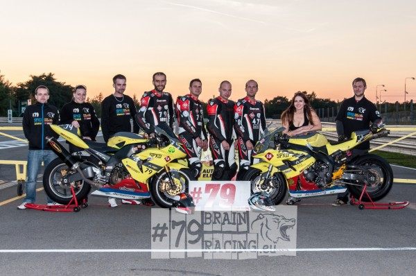 Dentaliving Bikepromotion GEC Brno Endurance team Brainracing