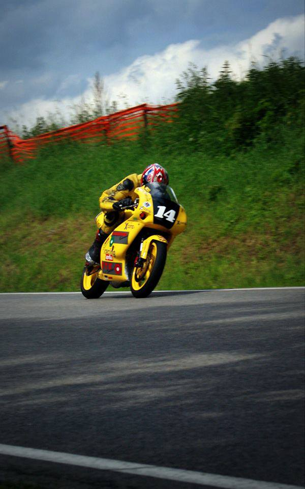 Marek Zima road racing zavodnik tridy 125SP