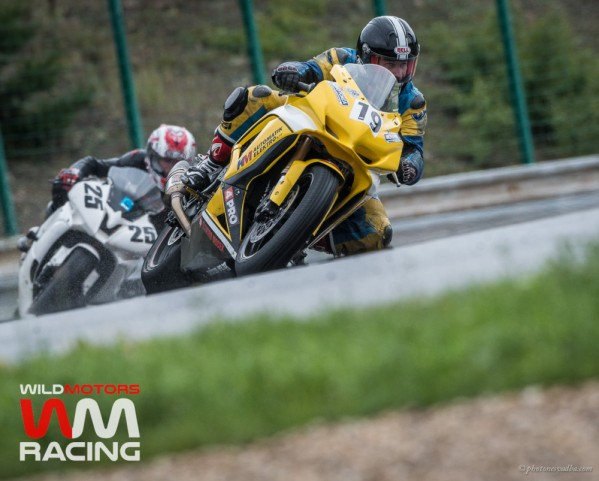 Wildmotors Endurance Brno GSXR600 wet race